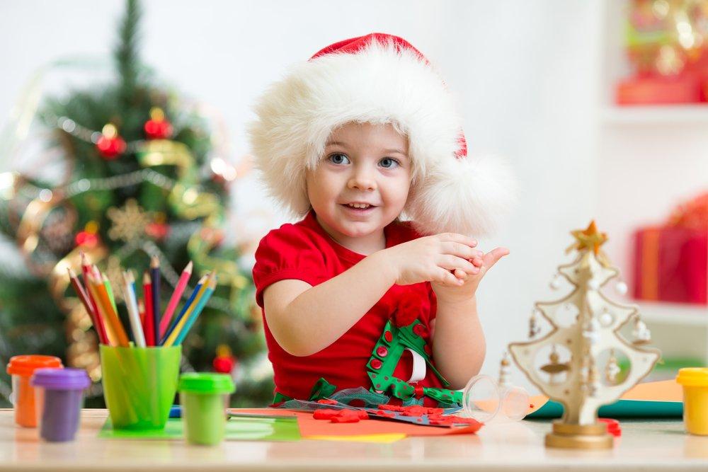 kerst knutselen met peuters