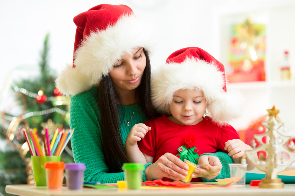 kinder knutsel kerst