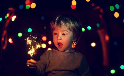 kinderen en vuurwerk