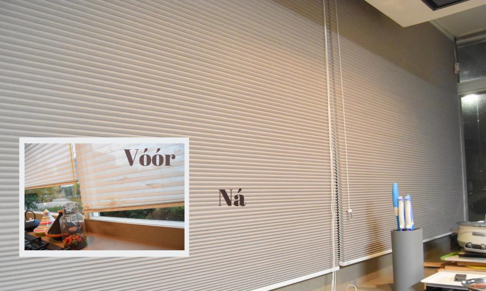 Keuken Gordijn 8 : Dramatische make over met nieuwe raamdecoratie moeders.nu