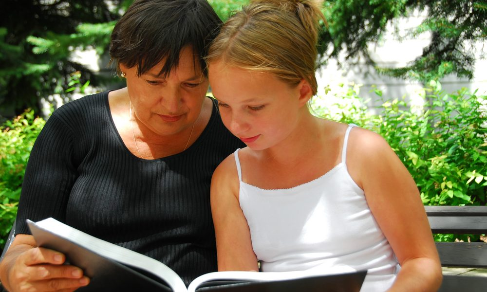 Voorlezen aan oudere kinderen