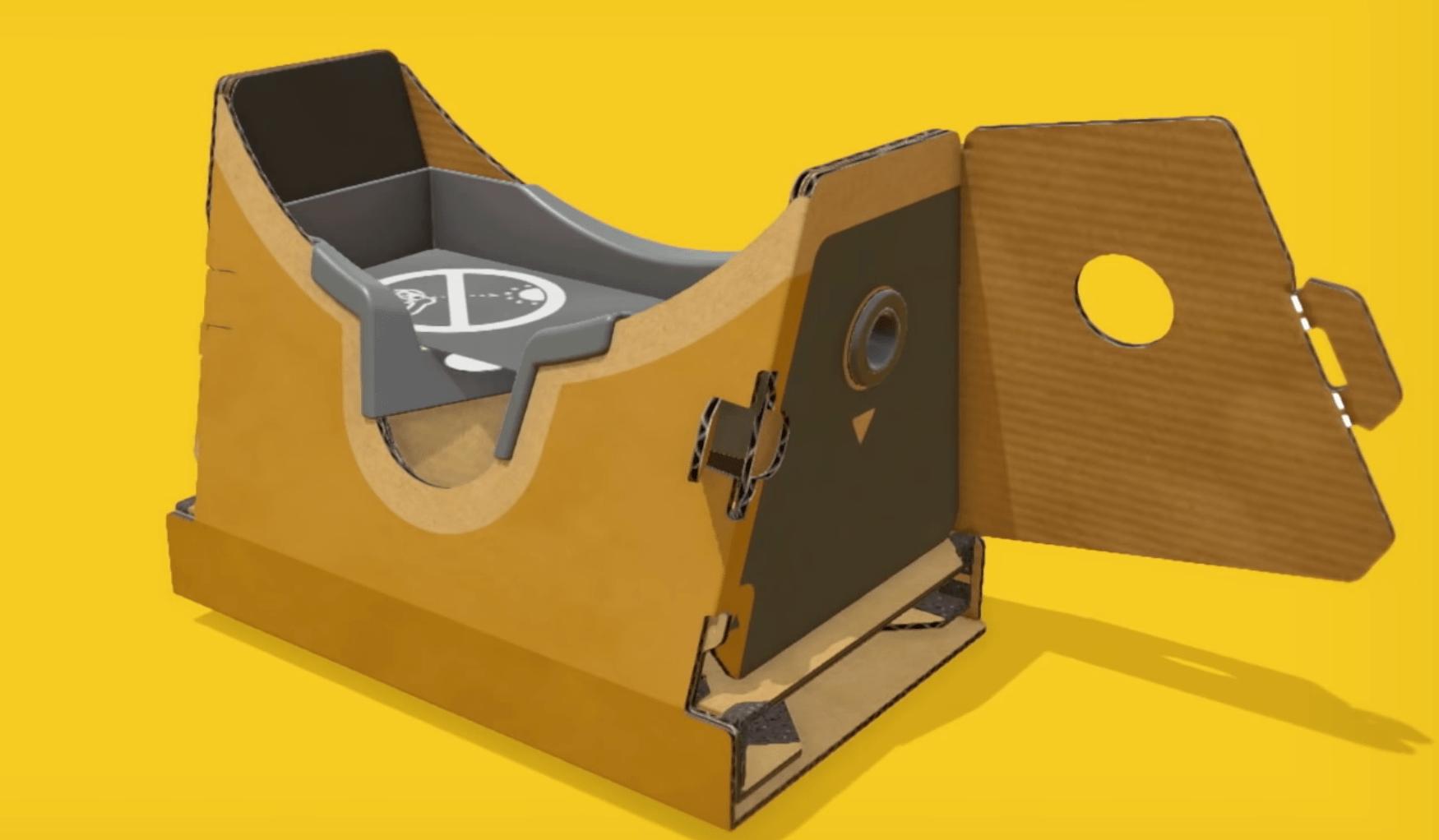nintendo Labo VR headset