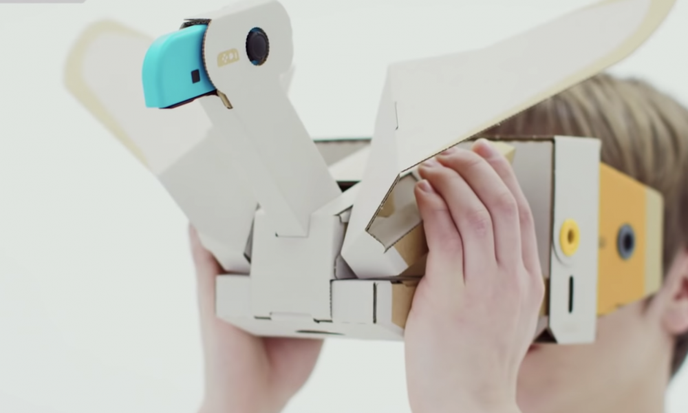 nintendo Labo VR vogel