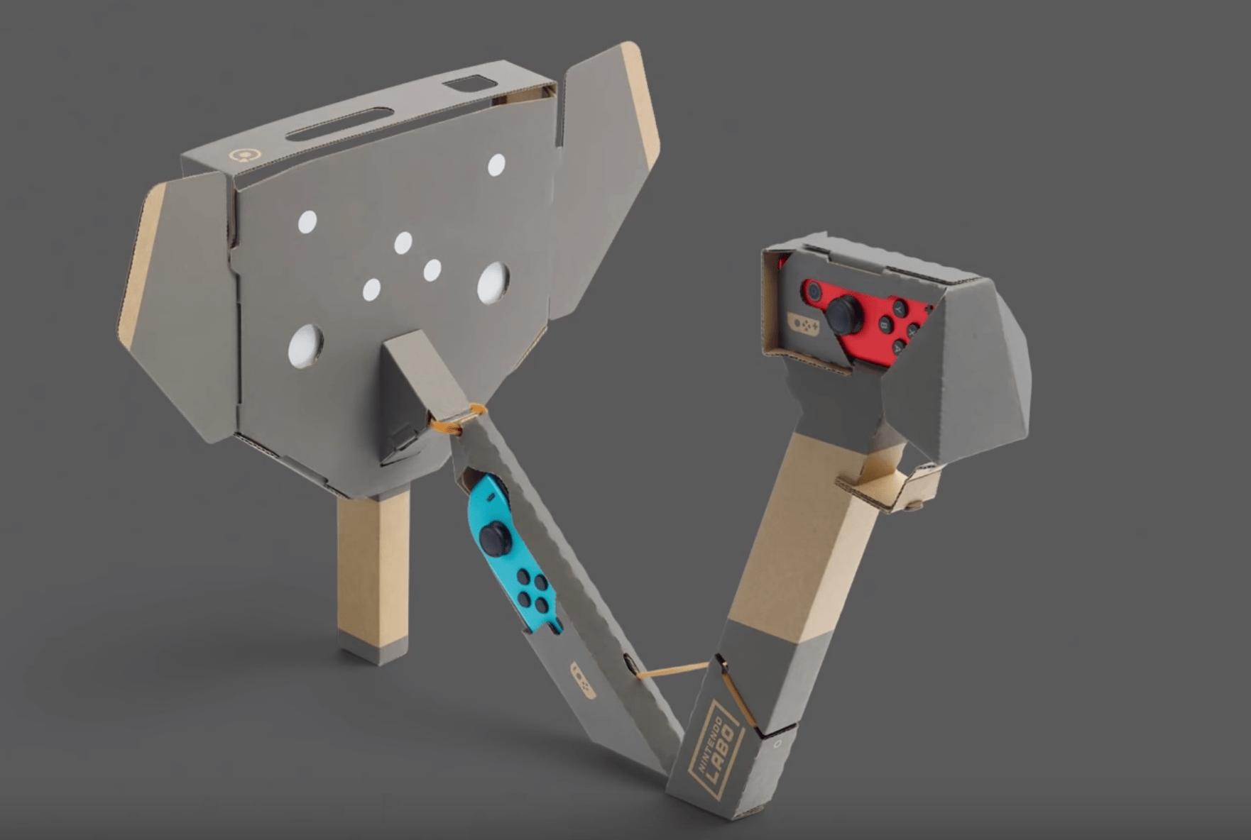 nintendo Labo VR olifant