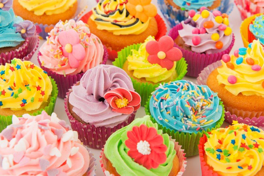 Bijzondere cupcakes