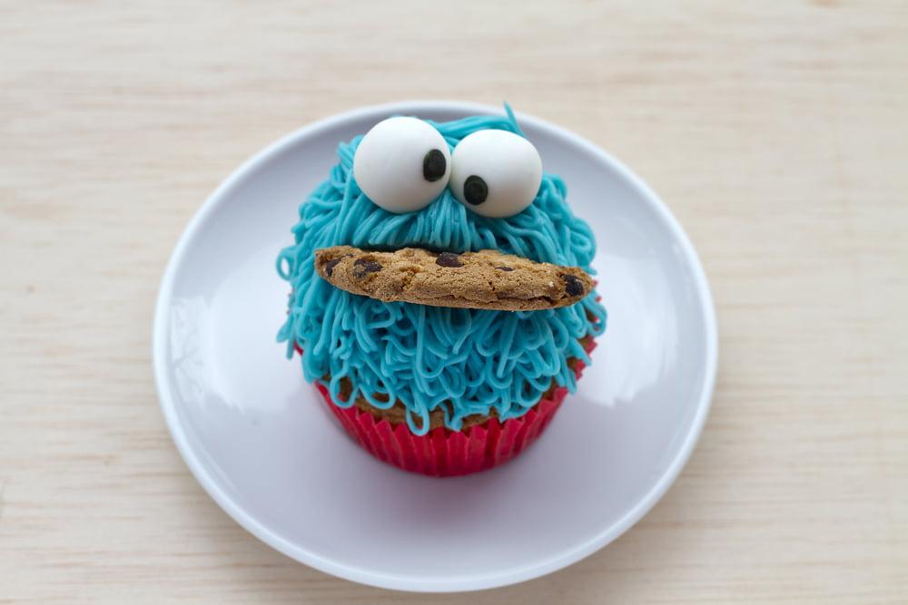 Cupcakes uitdelen