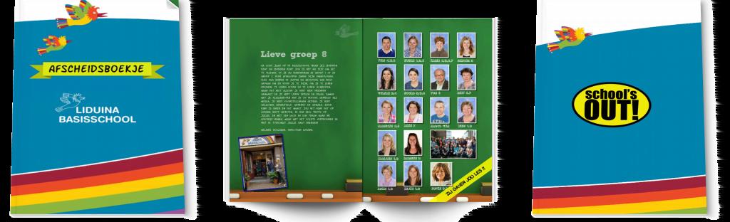 Afscheidsboekje groep 8