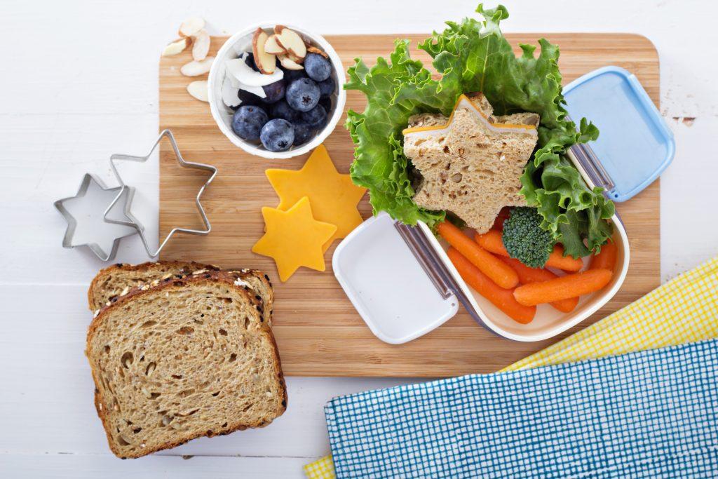 Overblijf lunchtrommel