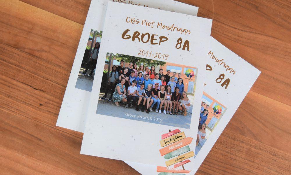Spiksplinternieuw Een jaarboek maken voor groep 8 - Moeders.nu BU-05
