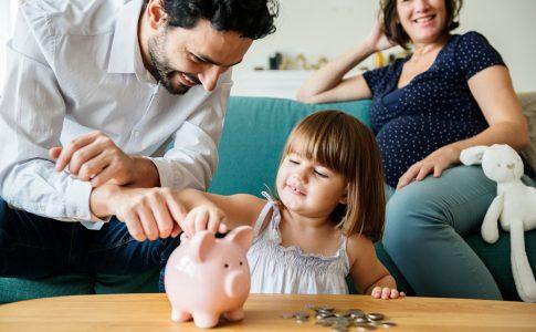 Sparen met gezin