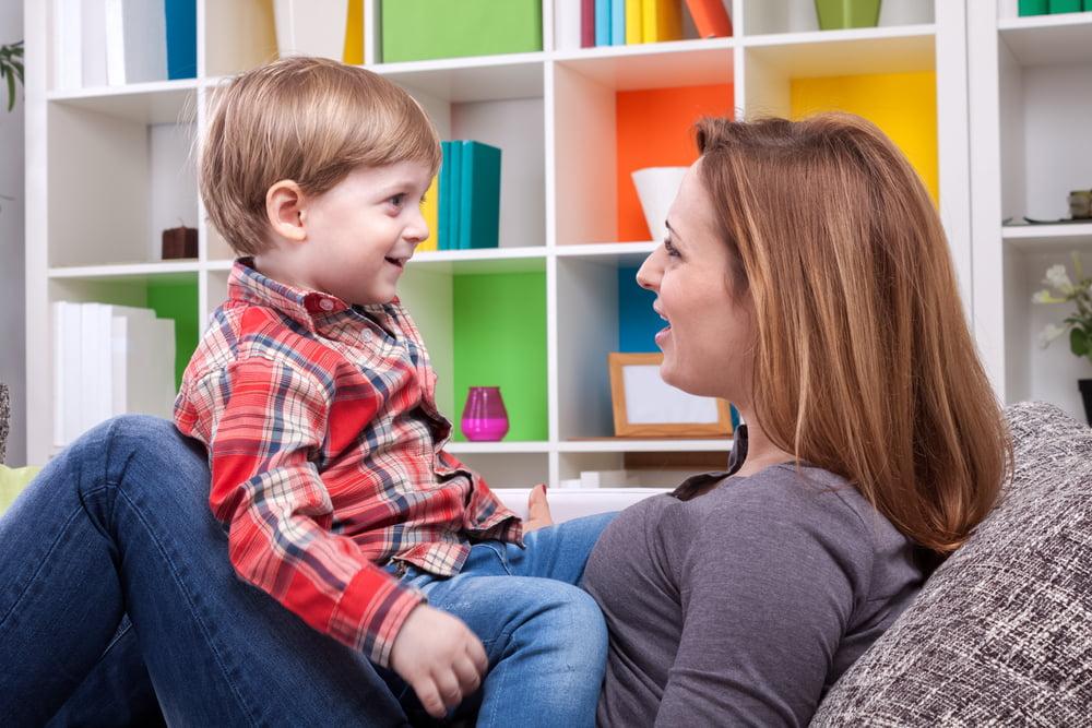 praten met kinderen