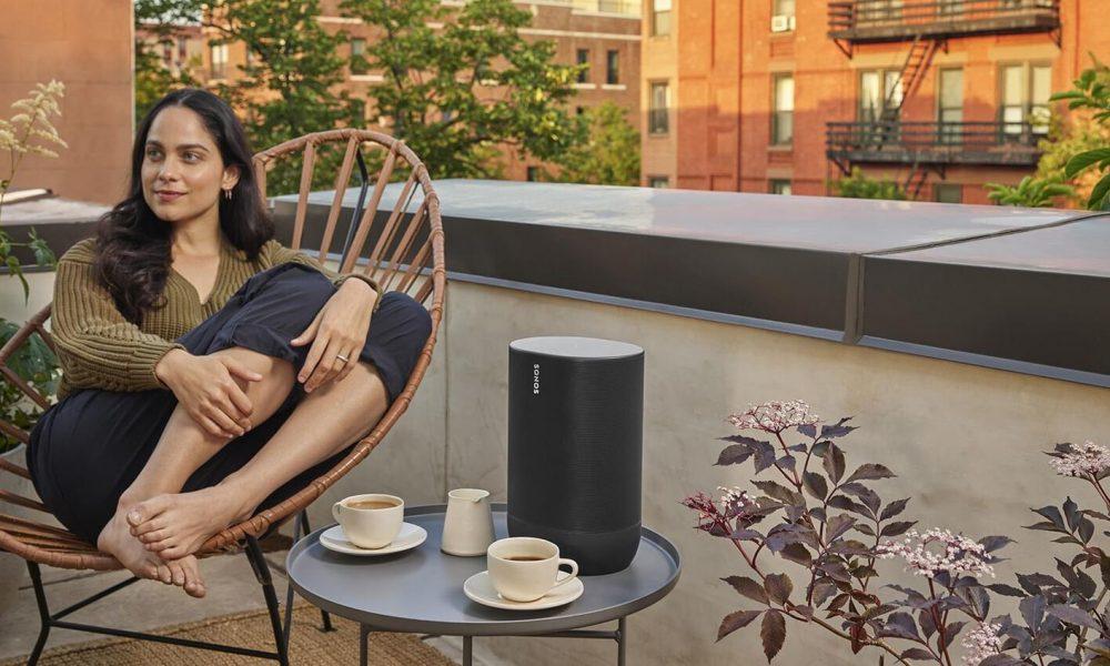 Sonos Move vaderdag