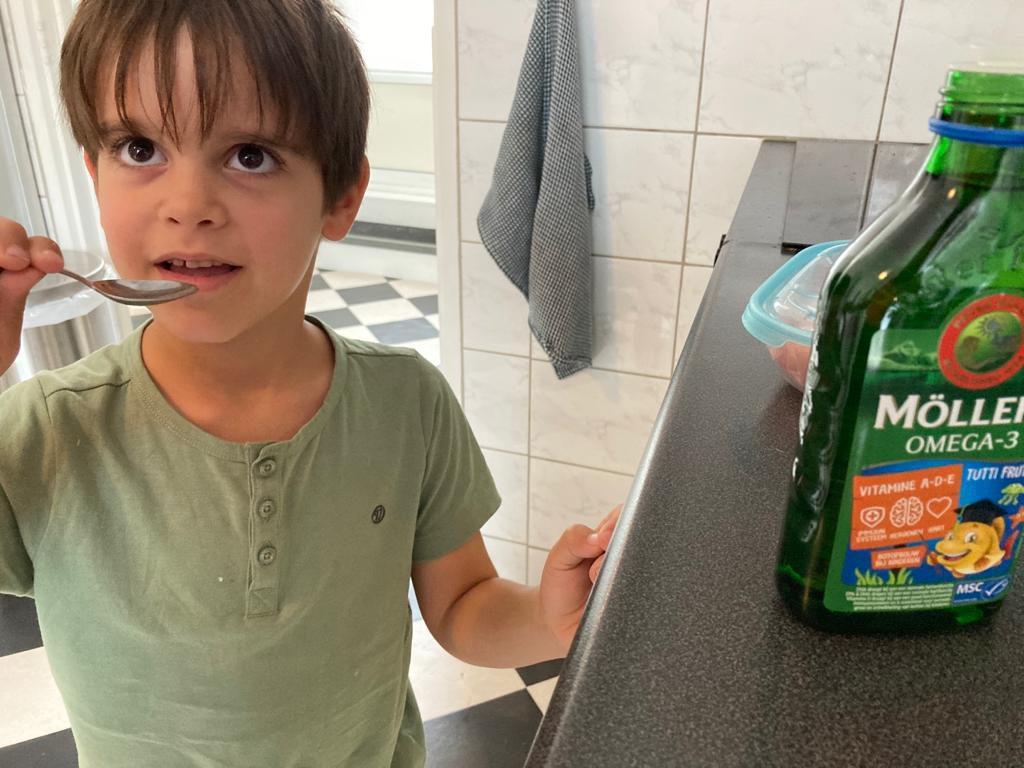Visolie voor kinderen