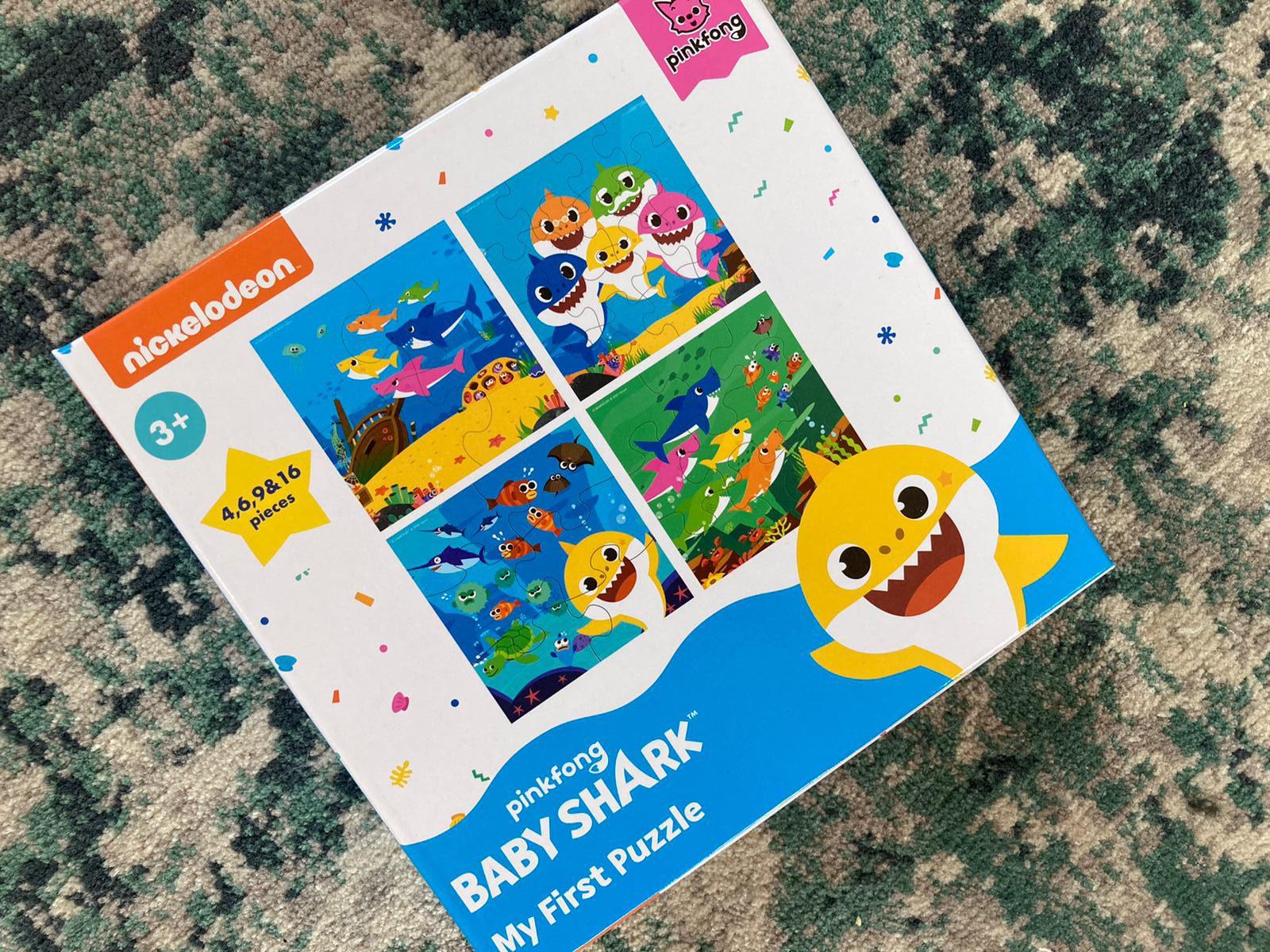 Baby shark speelgoed action